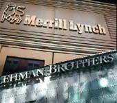 Lehman Bros files for bankruptcy & Bank of America is to buy Merrill Lynch